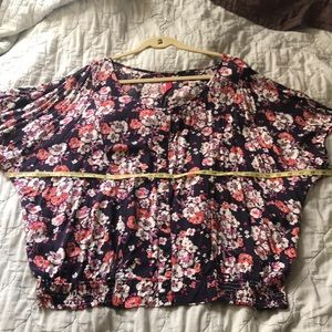 Gorgeous Flower Pattern Blouse